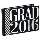 Grad 2016 Photo Album in Black and White