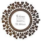 Love Is All Around Personalized Wall Mirror