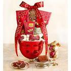 Glorious Godiva Pedestal Bowl Gift