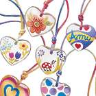 Children's Heart Pendant Decorating Kit