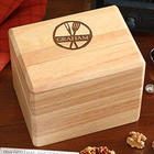 Personalized Family Brand Recipe Box