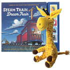 Steam Train, Dream Train Book and Plush Giraffe Set