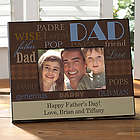 Personalized Ways To Say Dad Picture Frame