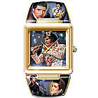 Elvis Presley King of Rock 'N' Roll Cuff Bracelet Watch