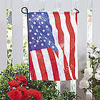 Red, White and Blue Garden Flag