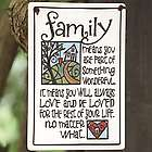 Family Ceramic Garden Sign and Wall Plaque