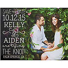 Personalized Lucky In Love Save The Date Magnets