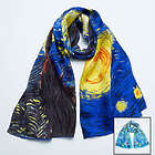 Van Gogh Starry Night Silk Scarf
