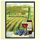 Personalized Unframed Vineyard Canvas