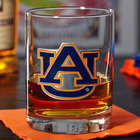 Auburn Tigers Whiskey Glass