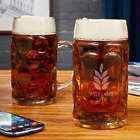 2 Personalized Naturally Brewed Beer Steins