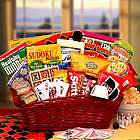 Games and Snacks Gift Basket
