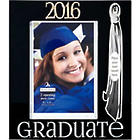 2016 Graduate Picture Frame with Tassel in Black