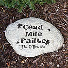 Engraved Irish House Blessing Garden Stone