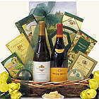 Savory Selections Gourmet Wine & Cheese Gift Basket