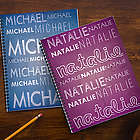 My Name Personalized Large Notebooks