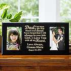 Personalized Always Be Your Little Girl Frame
