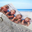 Personalized Photo Collage Beach Towel