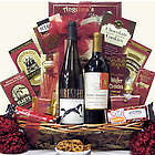 Sweet Selections Gourmet Wine & Chocolate Gift Basket