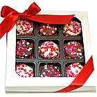 Heart Sprinkles Chocolate Dipped Oreos Gift Box