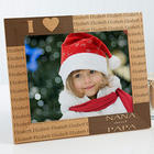 Our Loving Hearts Personalized 8x10 Picture Frame