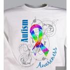 Personalized Autism Ribbon Awareness Sweatshirt