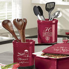 Kitchen Utensils Personalized Crock