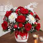 Large Santa's Sleigh Ride Floral Arrangement