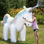 Giant Unicorn Inflatable Lawn Sprinkler
