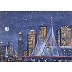 Zakim Bridge, Boston Note Cards