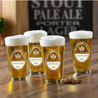 Personalized Brewing Company Pub Glass Set