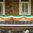 Irish Flag Striped Bunting