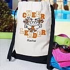 Personalized Cheerleader Backpack