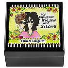 Personalized Wonderful, Wacky Woman Trinket Box