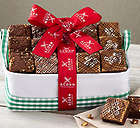 Chocolate, Peanut Butter & Fudge Nut Brownie Gift Box