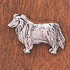 Handcrafted Collie Pin
