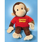 Jumbo Plush Curious George