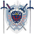 Legend Of Zelda Mini Sword Set with Shield