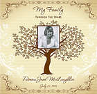 My Life Through The Years: A Personalized Family Tree Album