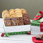 Deluxe Cookie and Brownie Holiday Gift Box