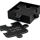 Leather Puzzle Shaped Coasters