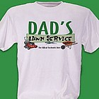 Lawn Service Personalized T-Shirt