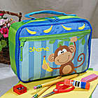 Personalized Monkey Lunch Box