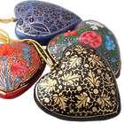 Season of Love Papier Mache Ornaments