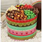 Gourmet Popcorn and Snack Mix Tin