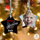 Future Rockstar Personalized Christmas Ornament