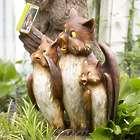 Owl Family Selfie Statue