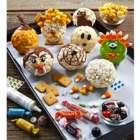 Halloween Popcorn Balls Decorating Kit