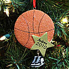 Basketball Star Personalized Ornament
