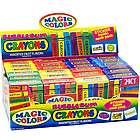 24 Packs of Magic Color Bubble Gum Crayon Packs